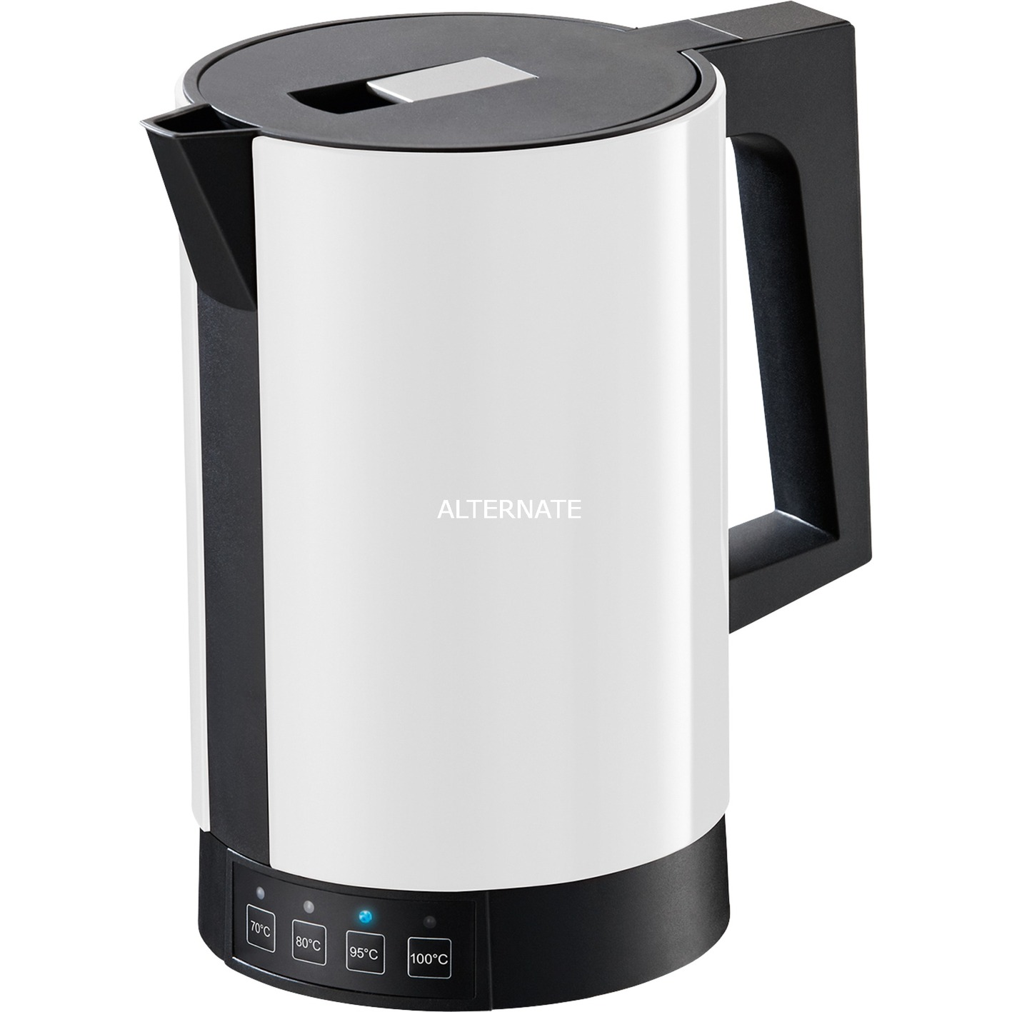 fontana5 tetera eléctrica 1,1 L Blanco 2800 W, Hervidor de agua
