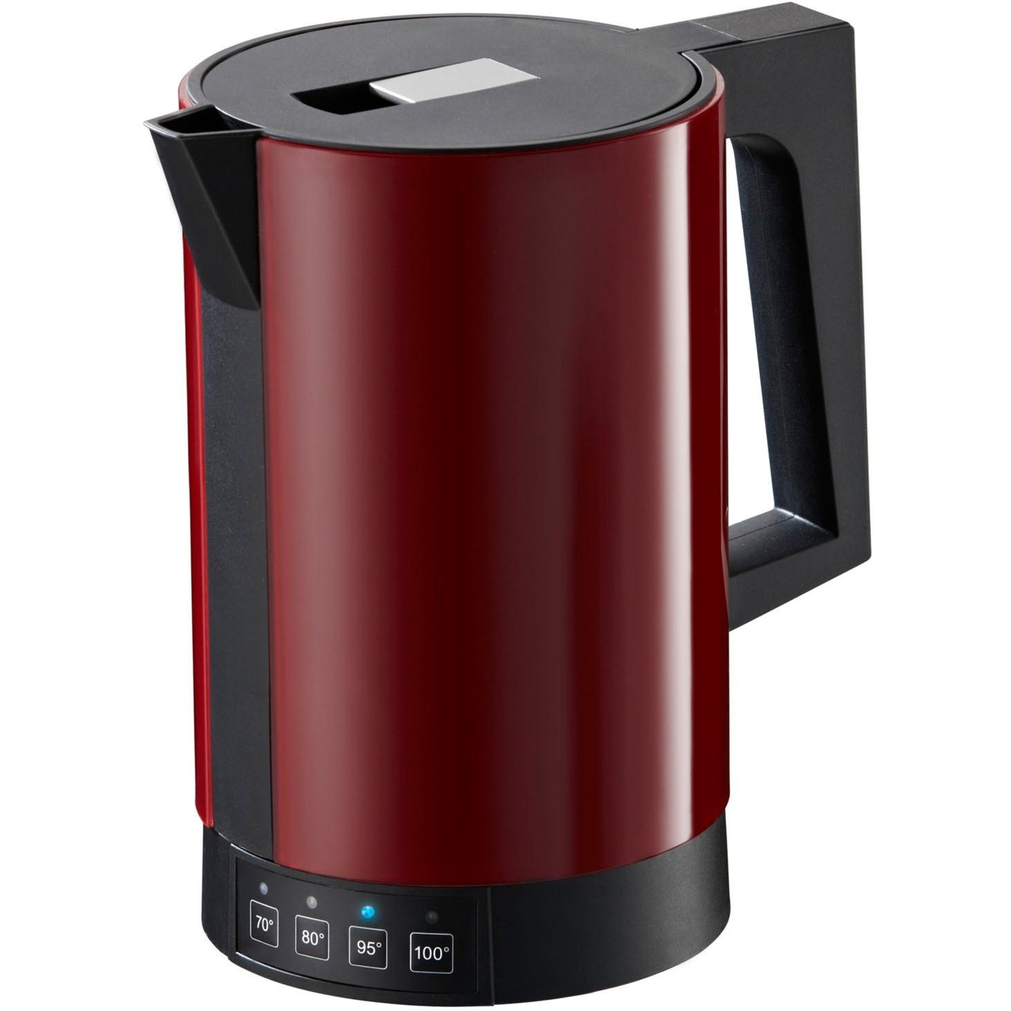 fontana5 tetera eléctrica 1,1 L Rojo 2800 W, Hervidor de agua