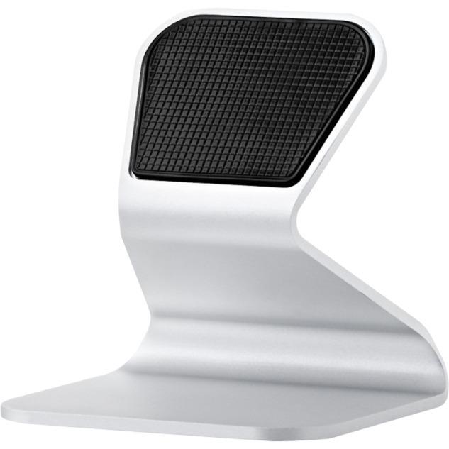 XM-DESK-08-IPAD mueble y soporte para dispositivo multimedia Carro para administración de tabletas Plata Tablet