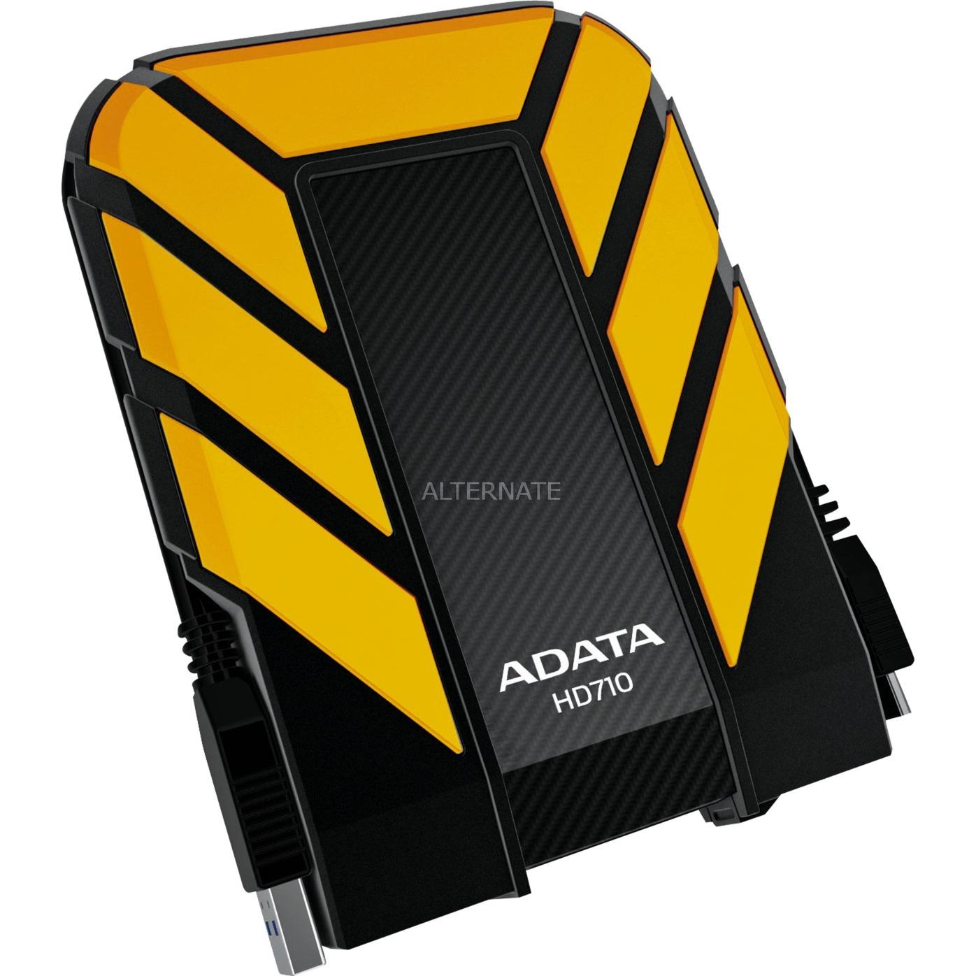 1TB DashDrive Durable HD710 1000GB Amarillo disco duro externo, Unidad de disco duro