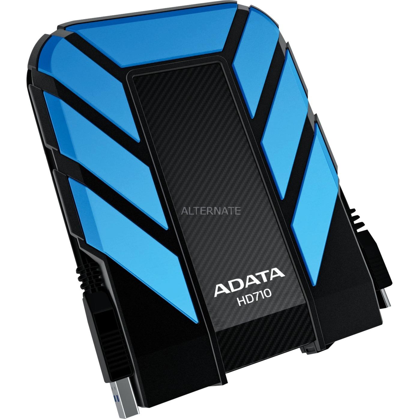 1TB DashDrive Durable HD710 1000GB Negro, Azul disco duro externo, Unidad de disco duro