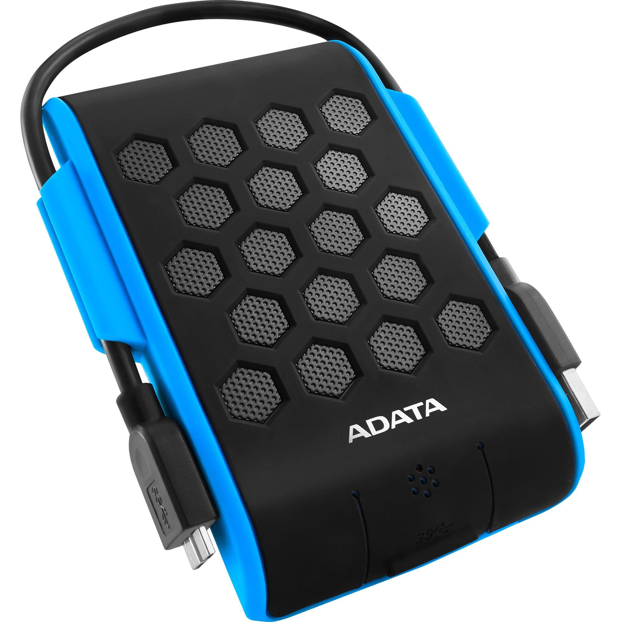 2TB HD720 disco duro externo 2000 GB Negro, Azul, Unidad de disco duro