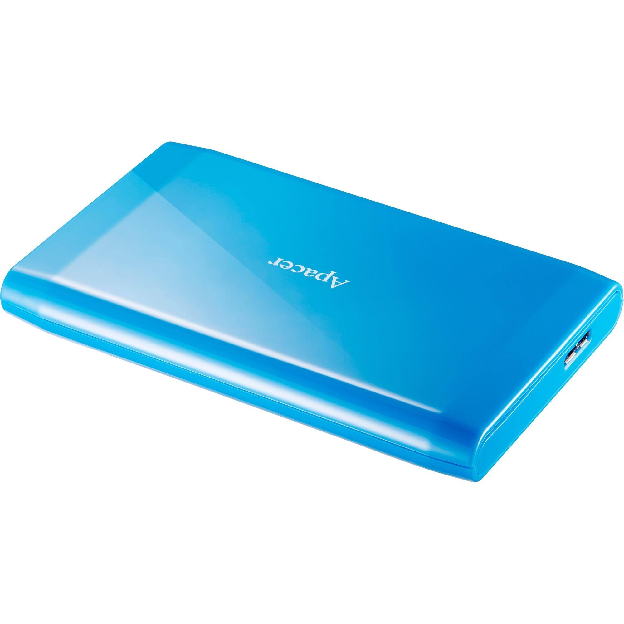AC235 disco duro externo 1000 GB Azul, Unidad de disco duro