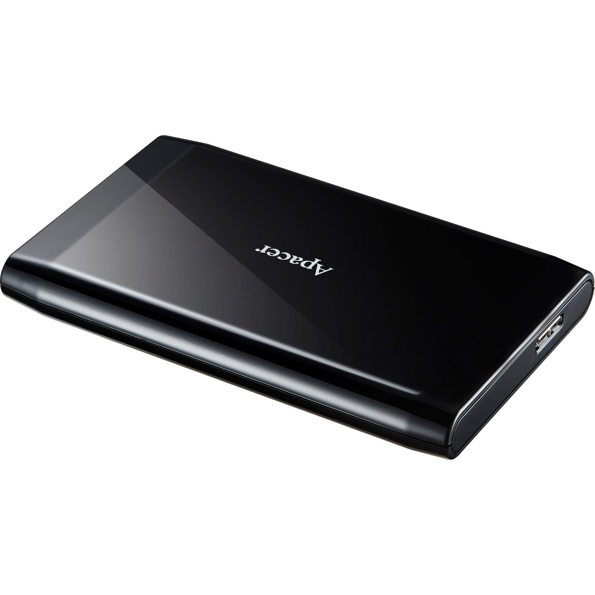 AC235 disco duro externo 500 GB Negro, Unidad de disco duro