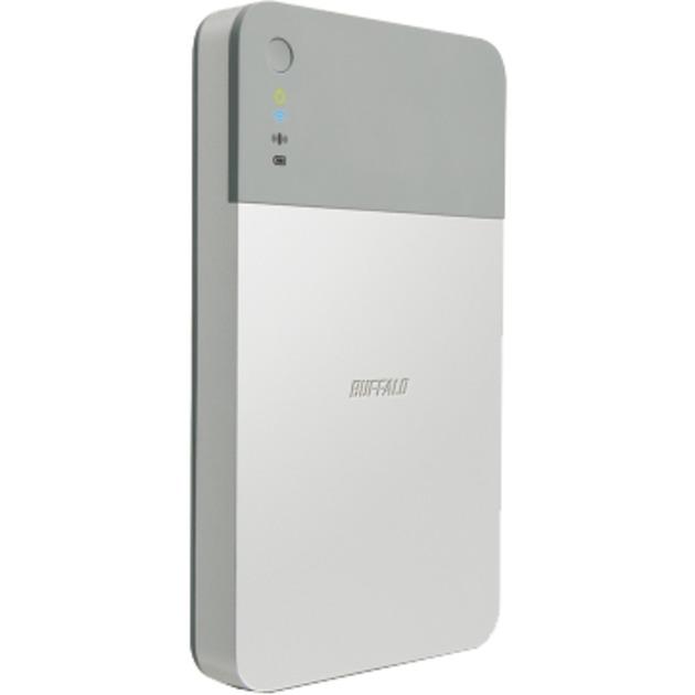 1TB MiniStation Air Wifi 1000GB Gris, Plata disco duro externo, Unidad de disco duro