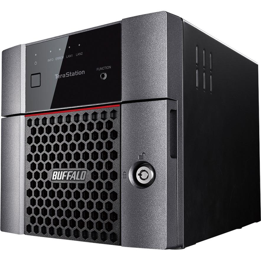 3210DN Ethernet Escritorio Negro NAS