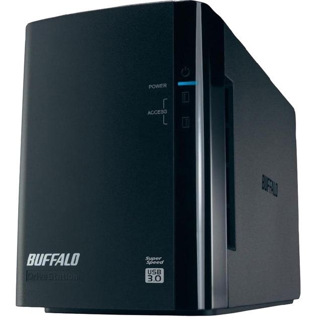 DriveStation HD-WLU3 unidad de disco multiple 4 TB Escritorio Negro, Unidad de disco duro