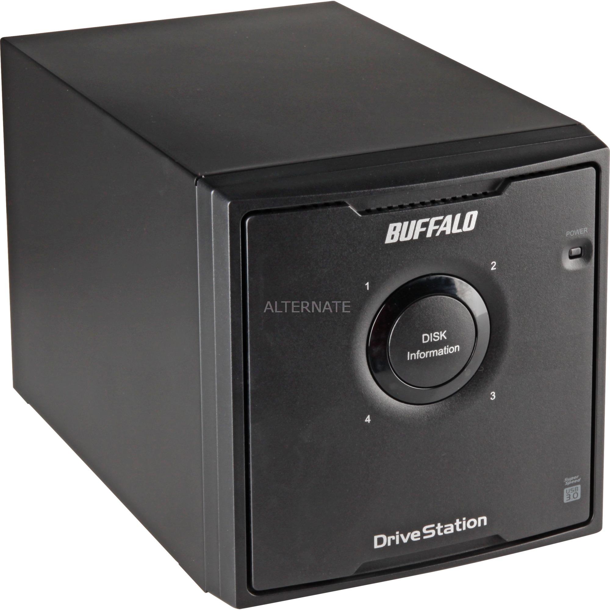 DriveStation Quad USB 3.0 8 TB, Unidad de disco duro