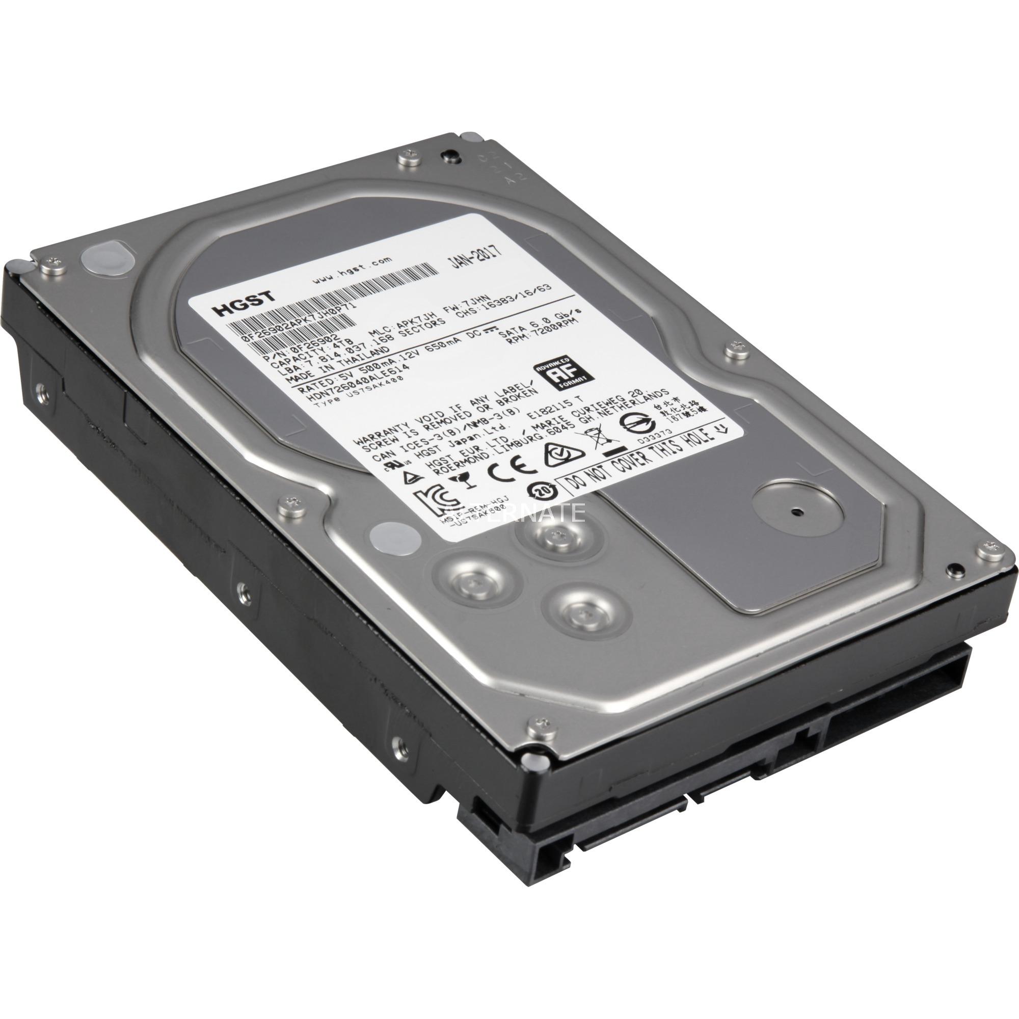 Deskstar 4TB H3IKNAS400012872SWW , Unidad de disco duro