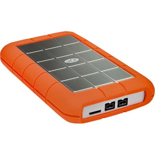 LAC9000488 1000GB Aluminio, Naranja disco duro externo, Unidad de disco duro