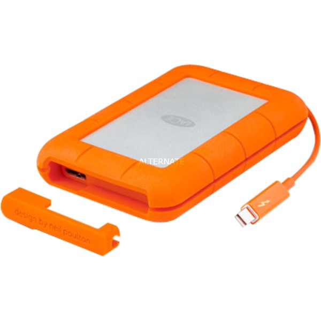 LAC9000489 2000GB Aluminio, Naranja disco duro externo, Unidad de disco duro