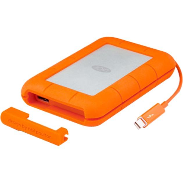 LAC9000489 disco duro externo 2000 GB Aluminio, Naranja, Unidad de disco duro