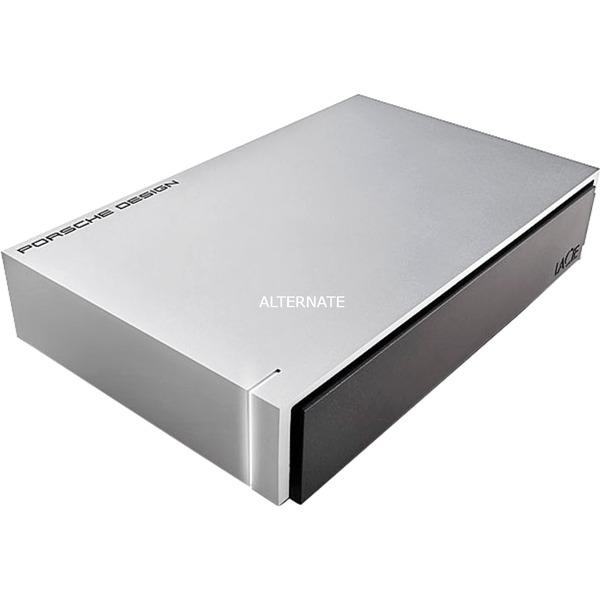 P'9233 8TB 8192GB Aluminio, Negro disco duro externo, Unidad de disco duro