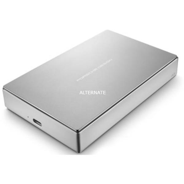 Porsche Design Mobile disco duro externo 1000 GB Plata, Unidad de disco duro