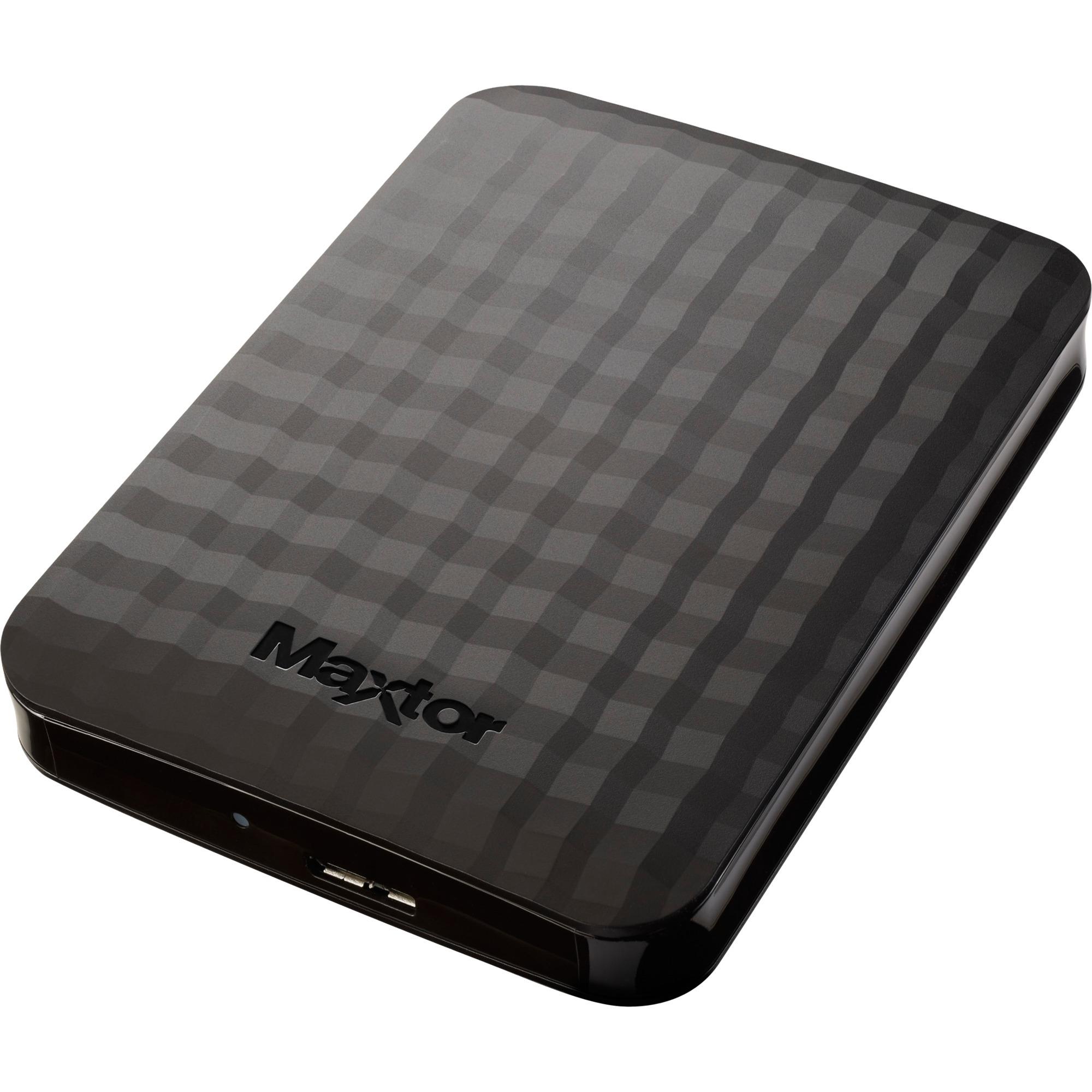 Maxtor M3 disco duro externo 500 GB Negro, Unidad de disco duro