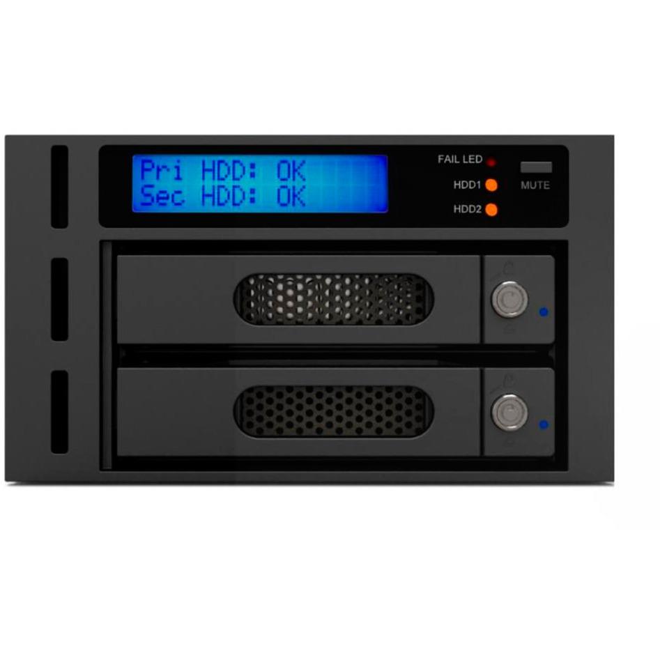 """iR2622 2.5/3.5"""" Carcasa de disco duro/SSD Negro, Gris, Chasis intercambiable"""