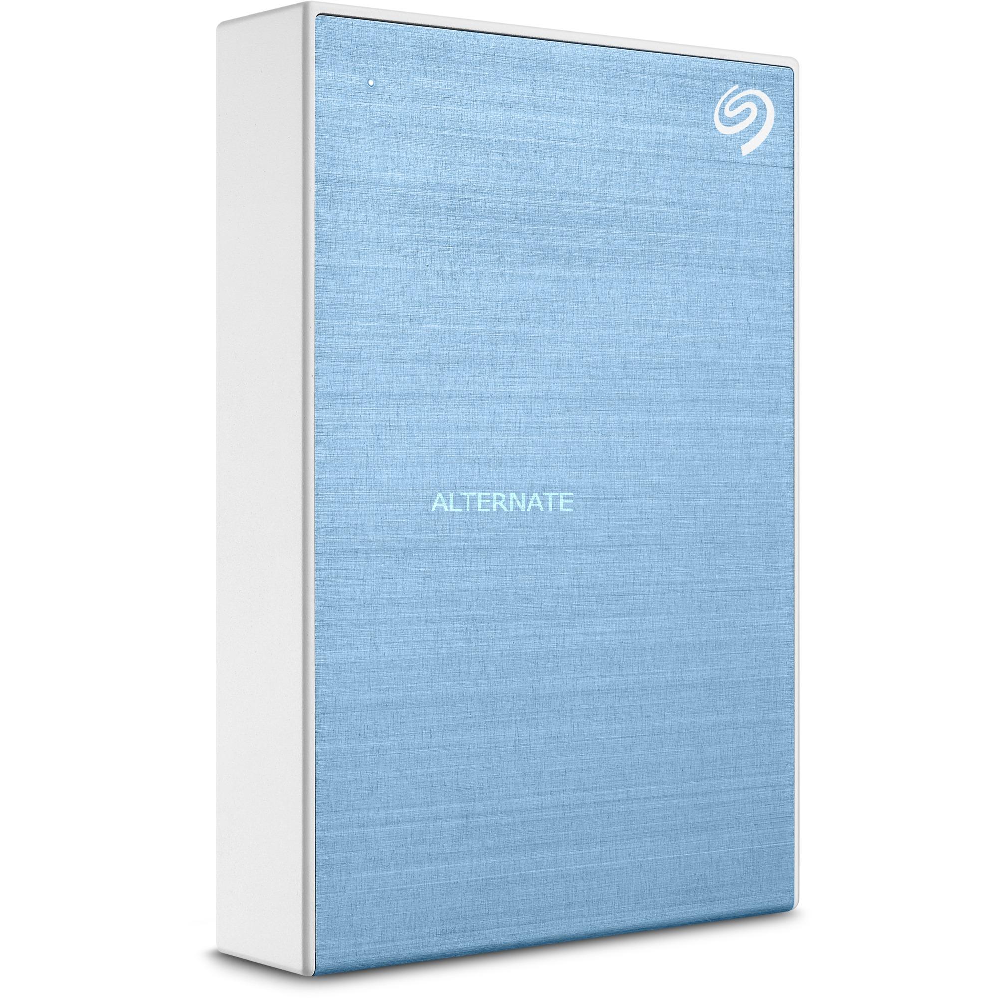 Backup Plus Portable disco duro externo 4000 GB Azul, Unidad de disco duro