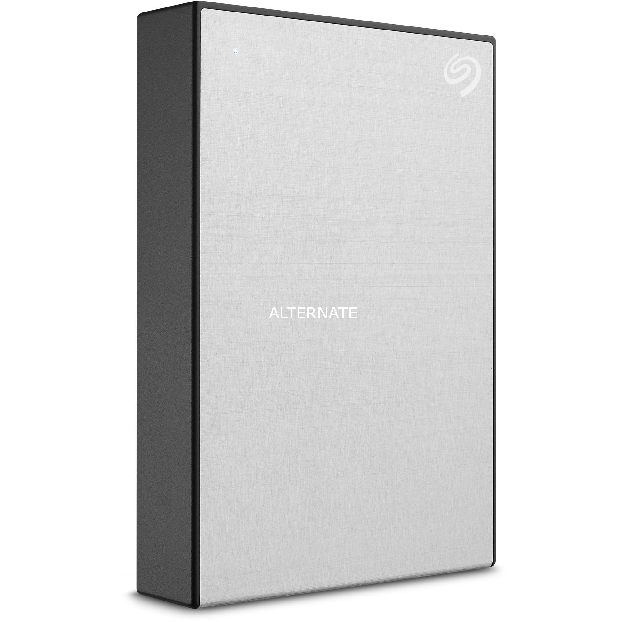Backup Plus Portable disco duro externo 4000 GB Plata, Unidad de disco duro