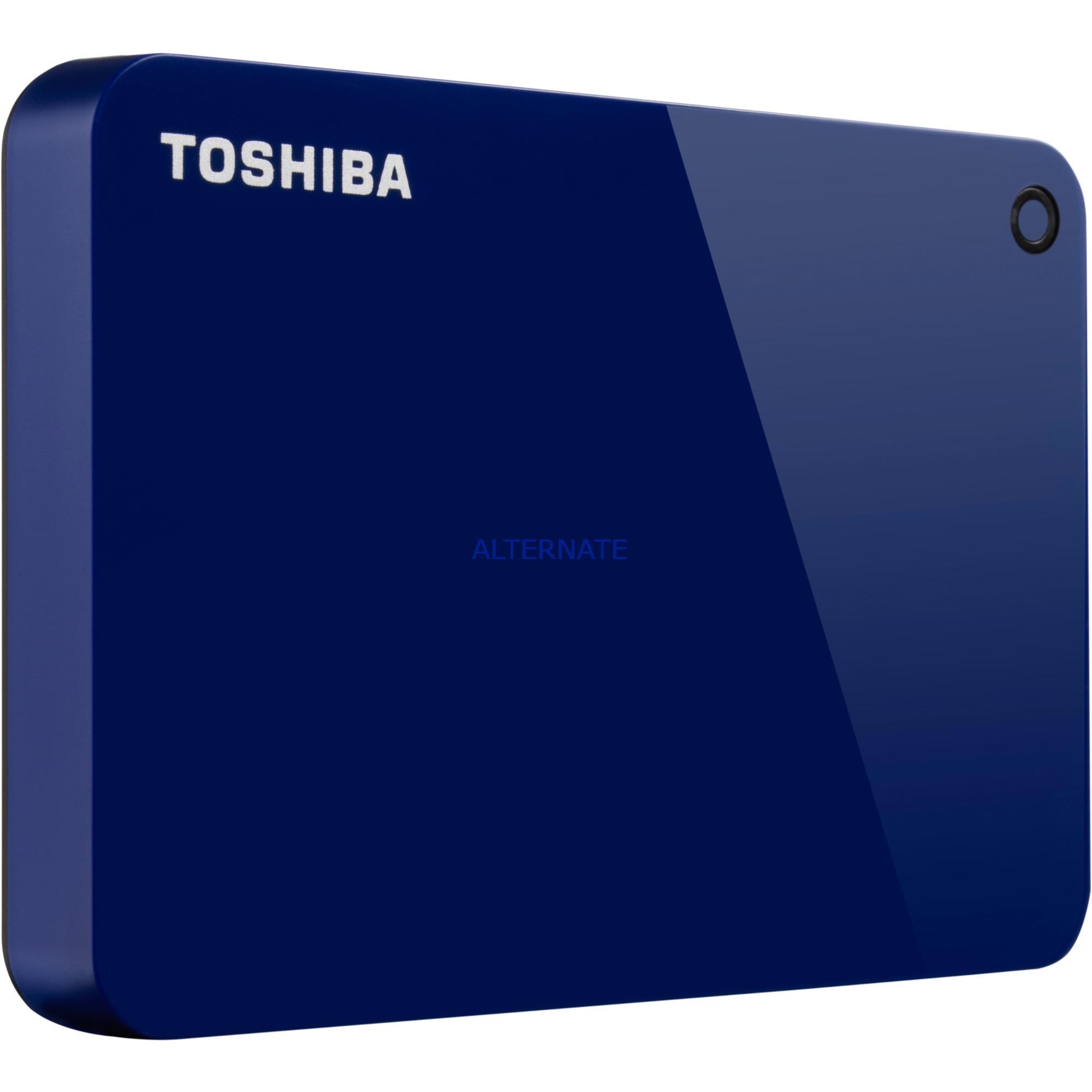 Canvio Advance disco duro externo 1000 GB Azul, Unidad de disco duro
