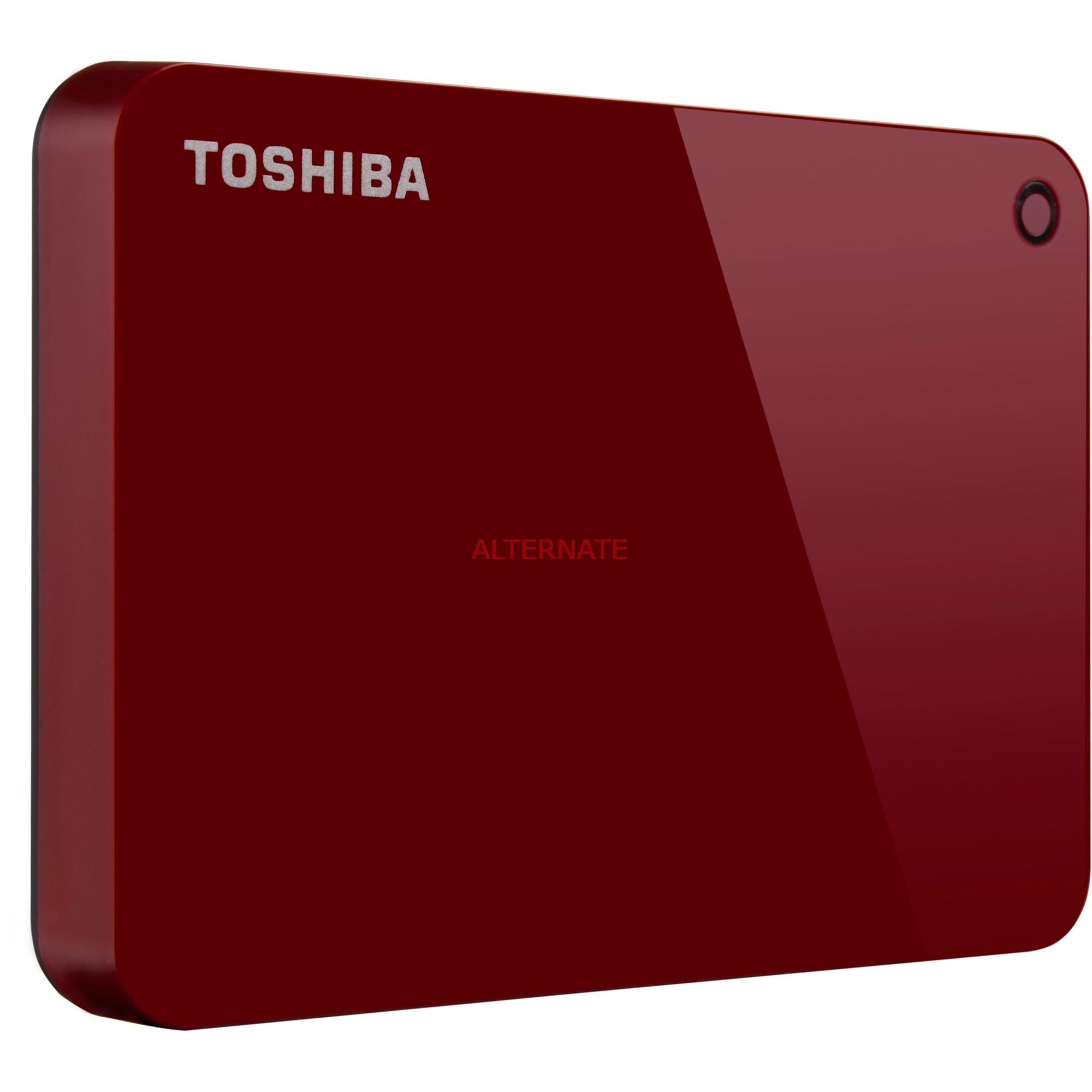 Canvio Advance disco duro externo 2000 GB Rojo, Unidad de disco duro