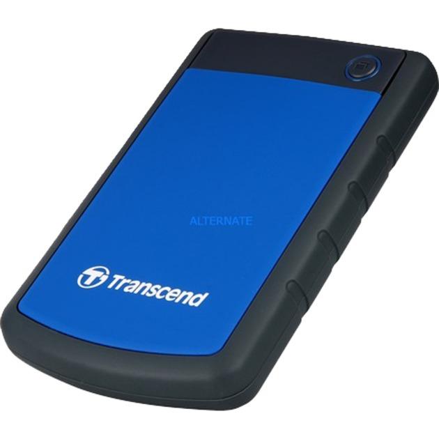 1TB StoreJet 25H3 disco duro externo 1000 GB Negro, Azul, Unidad de disco duro