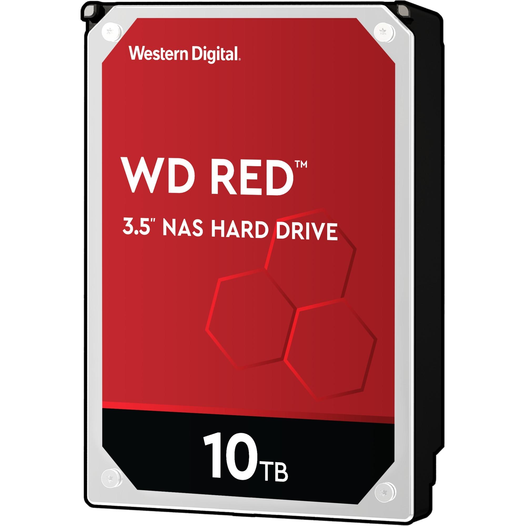 """10TB RED 256MB 3.5"""" 10000 GB Serial ATA III, Unidad de disco duro"""