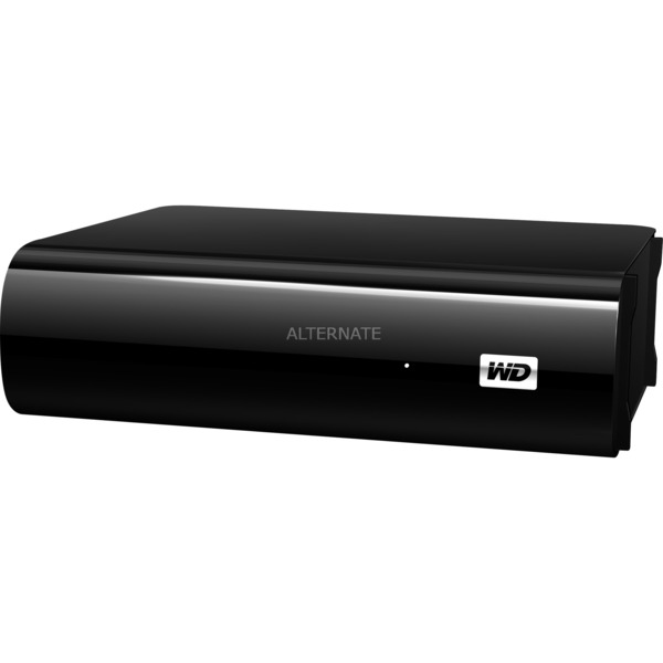 2TB My Book AV-TV disco duro externo 2000 GB Negro, Unidad de disco duro