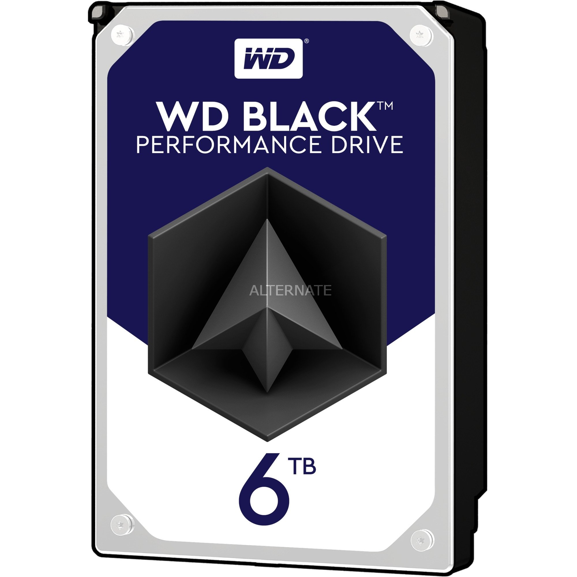 """Black 3.5"""" 6000 GB Serial ATA III, Unidad de disco duro"""