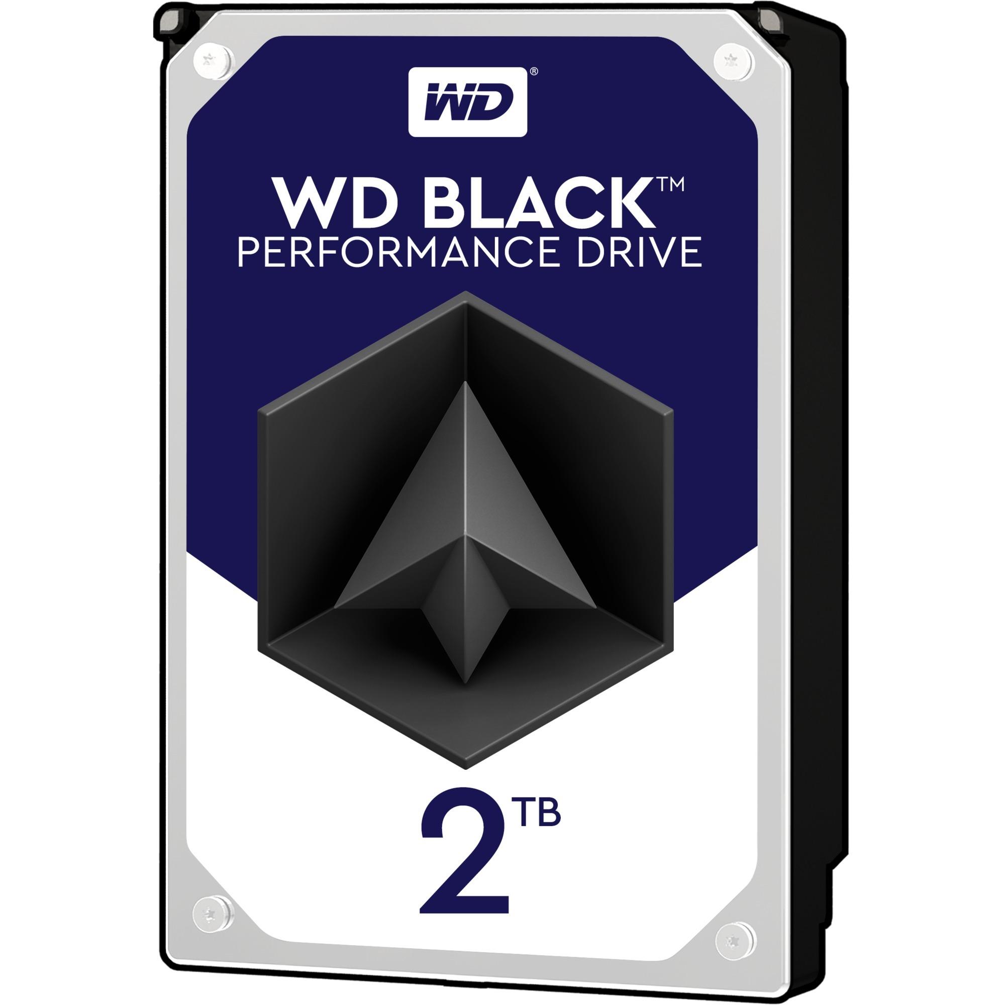 Black disco duro interno Unidad de disco duro 2000 GB Serial ATA III