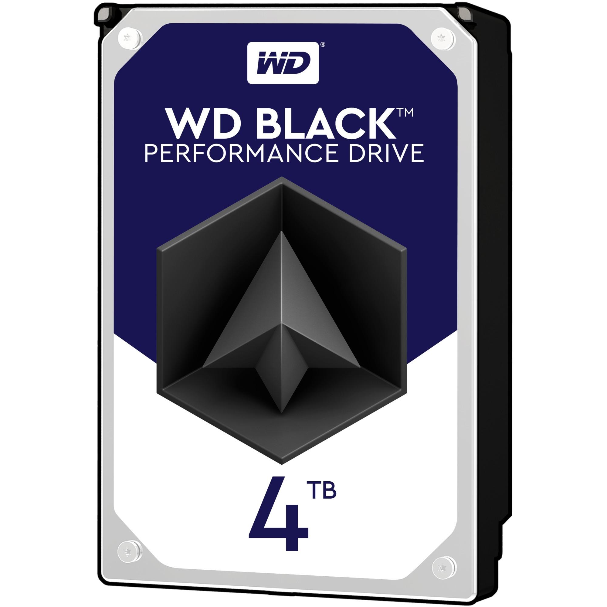 Black disco duro interno Unidad de disco duro 4000 GB Serial ATA III
