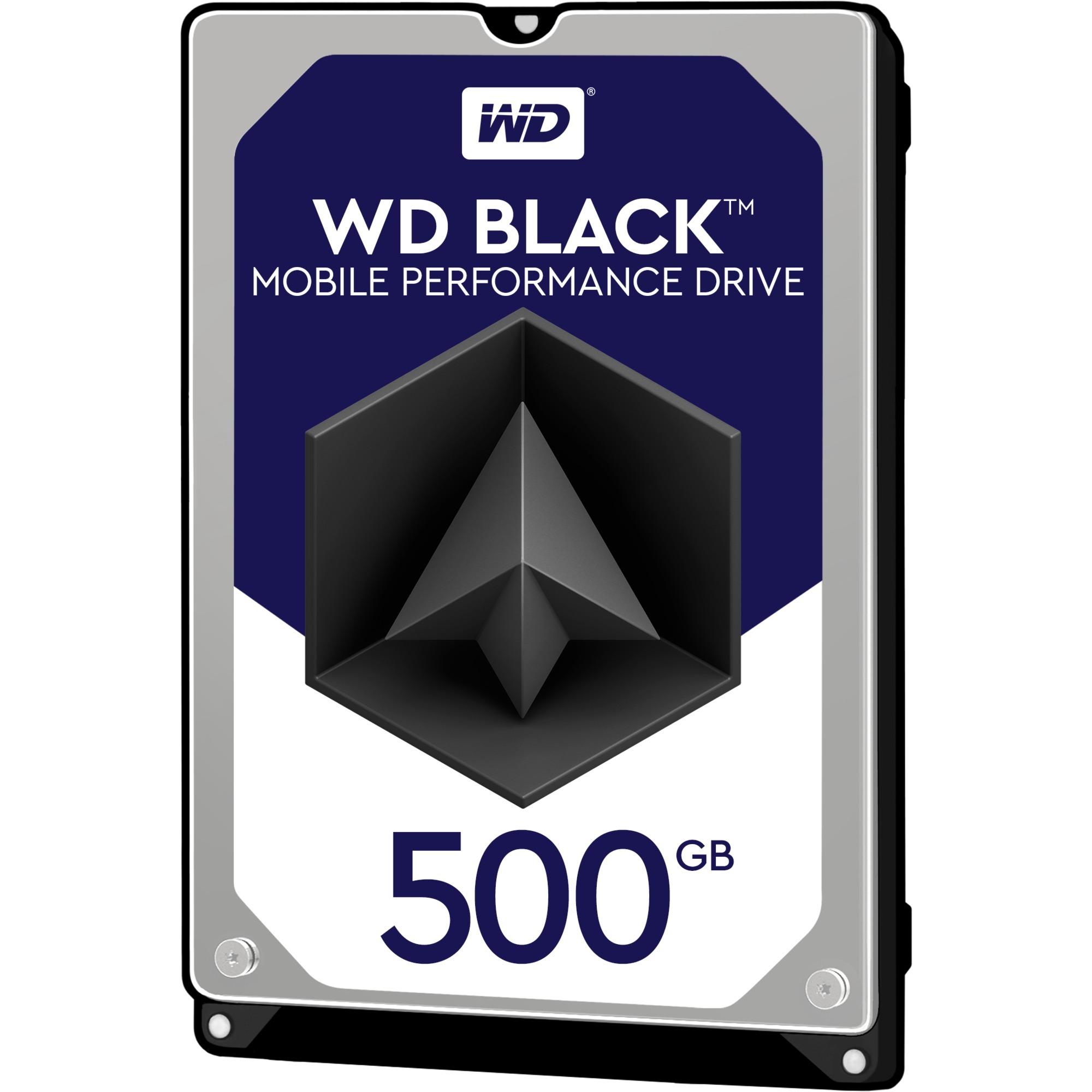Black disco duro interno Unidad de disco duro 500 GB Serial ATA III