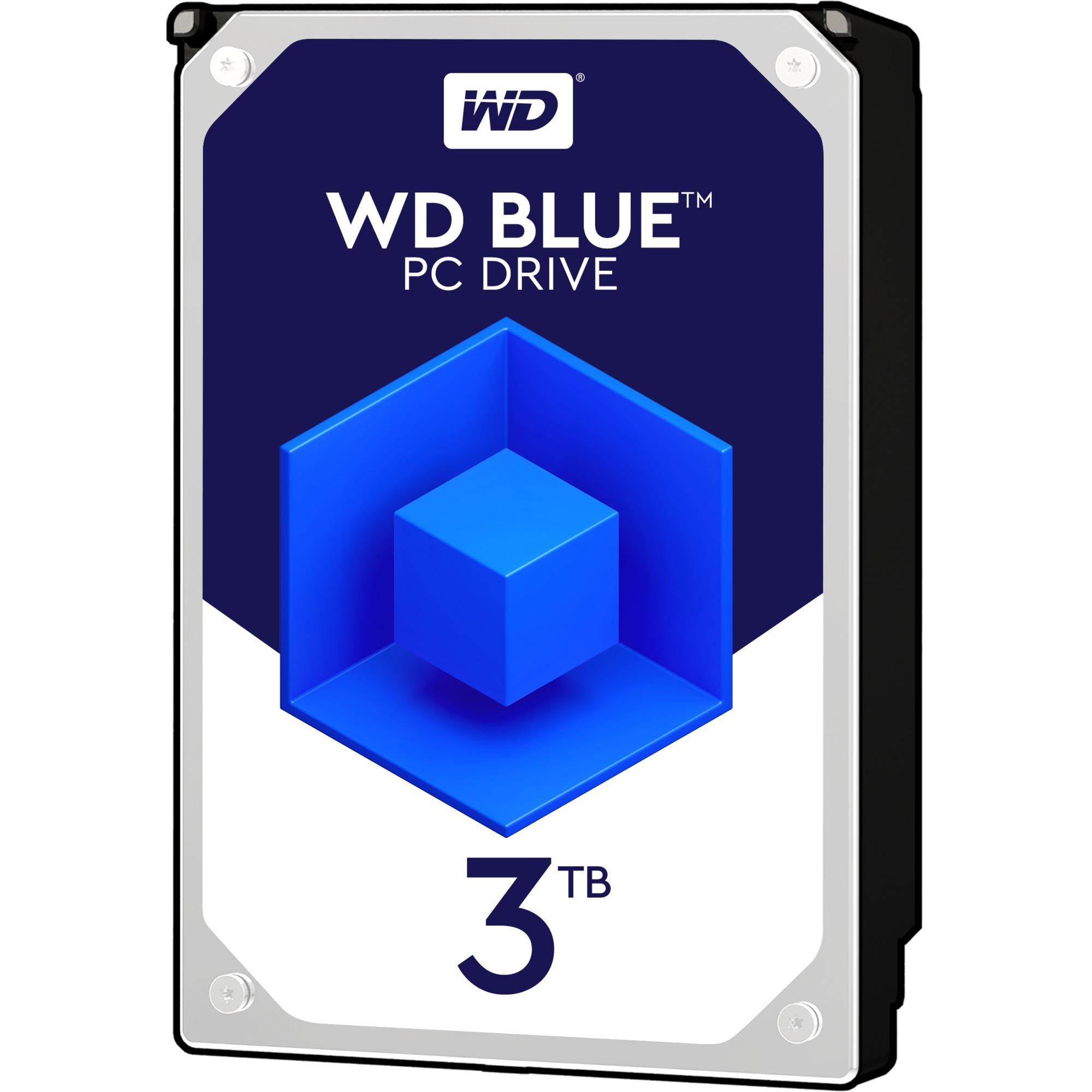 """Blue 3.5"""" 3000 GB Serial ATA III, Unidad de disco duro"""