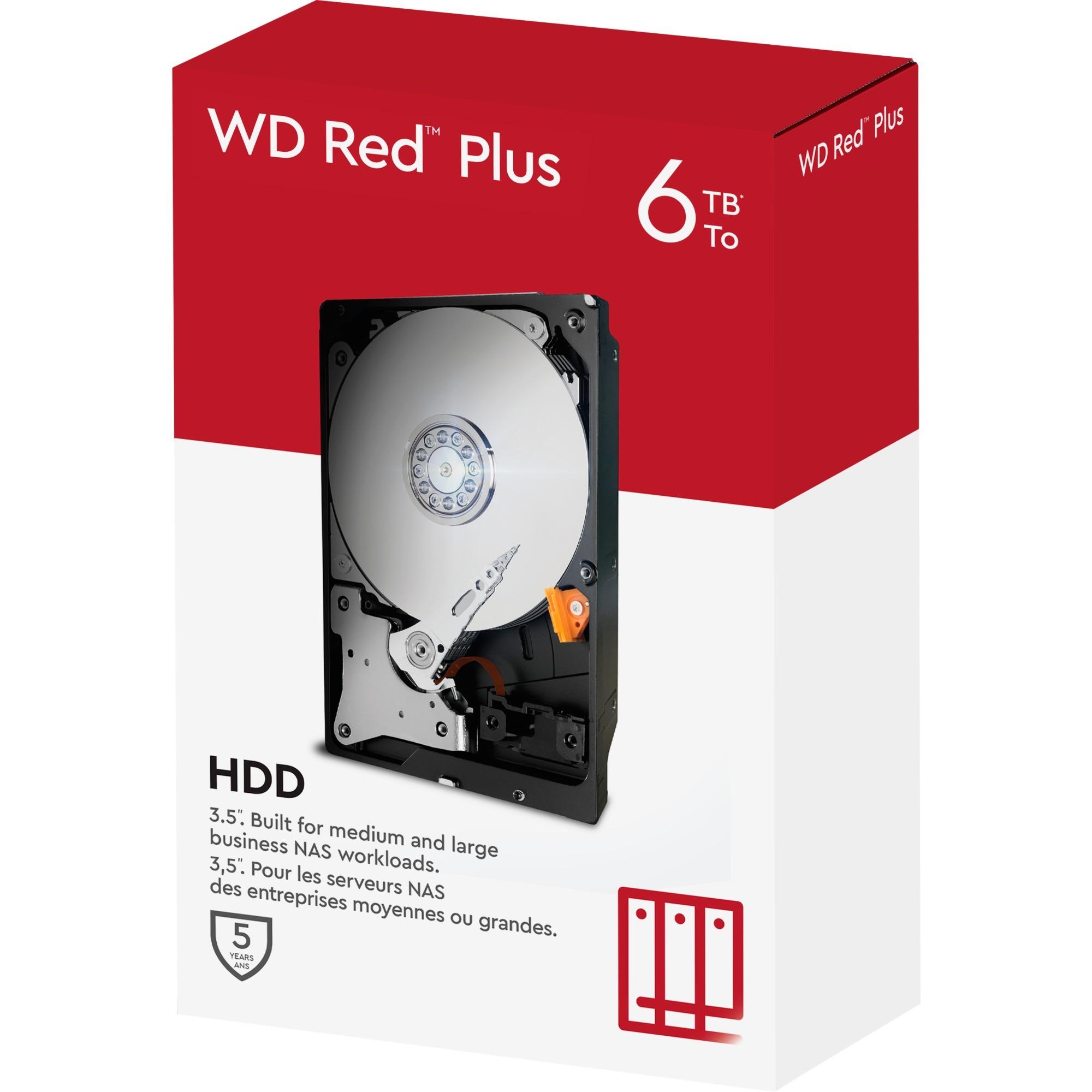 6TB WD60EFRX Red, Unidad de disco duro