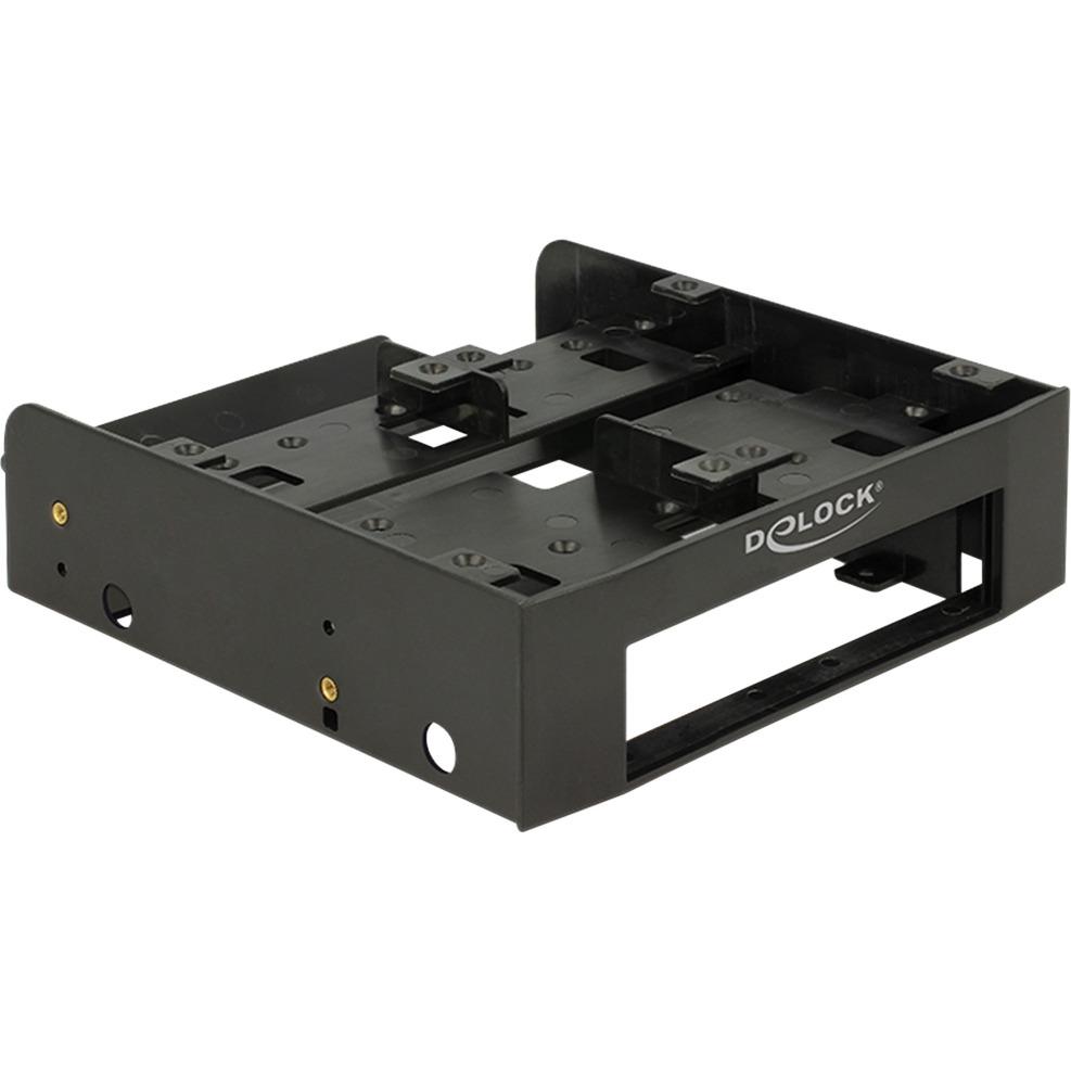 "18000 5.25"" Carrier panel Negro panel bahía disco duro, Bastidor de instalación"