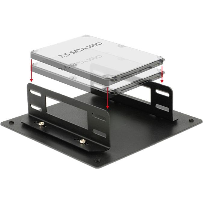 18213 Universal Funda de disco duro parte carcasa de ordenador, Bastidor de instalación