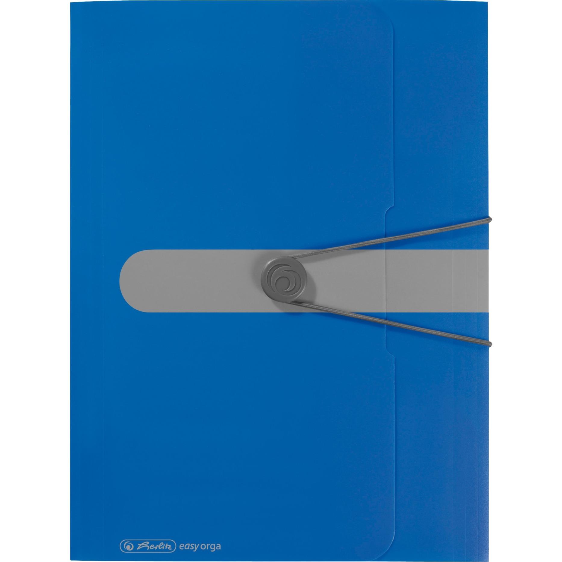 11205994 Polipropileno (PP) Azul carpeta, Organizador
