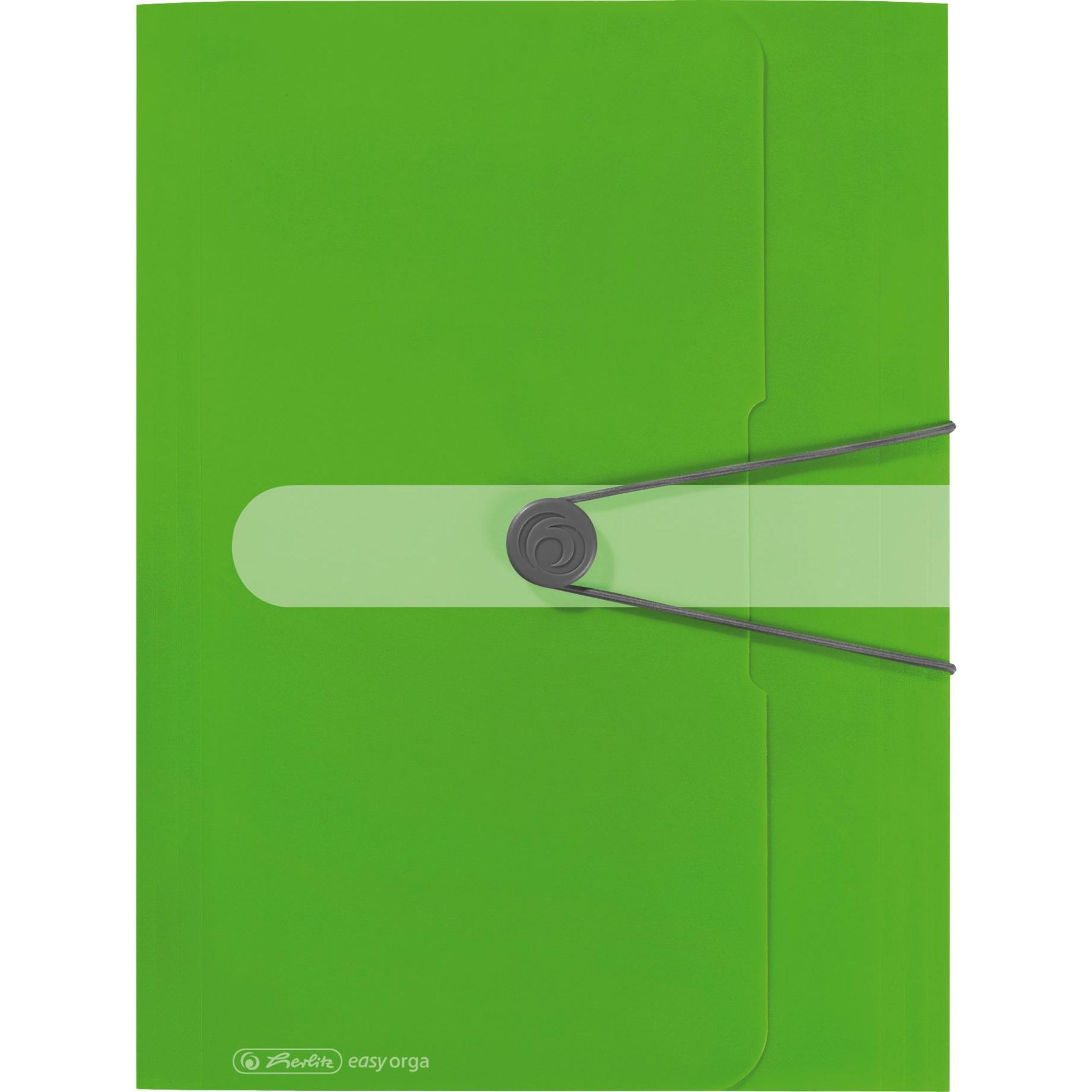 11206000 Polipropileno (PP) Verde carpeta, Organizador