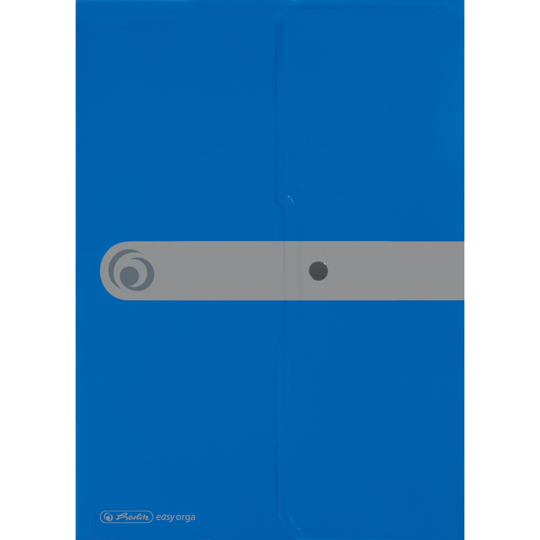 11206703 Polipropileno (PP) Azul carpeta, Bolsa