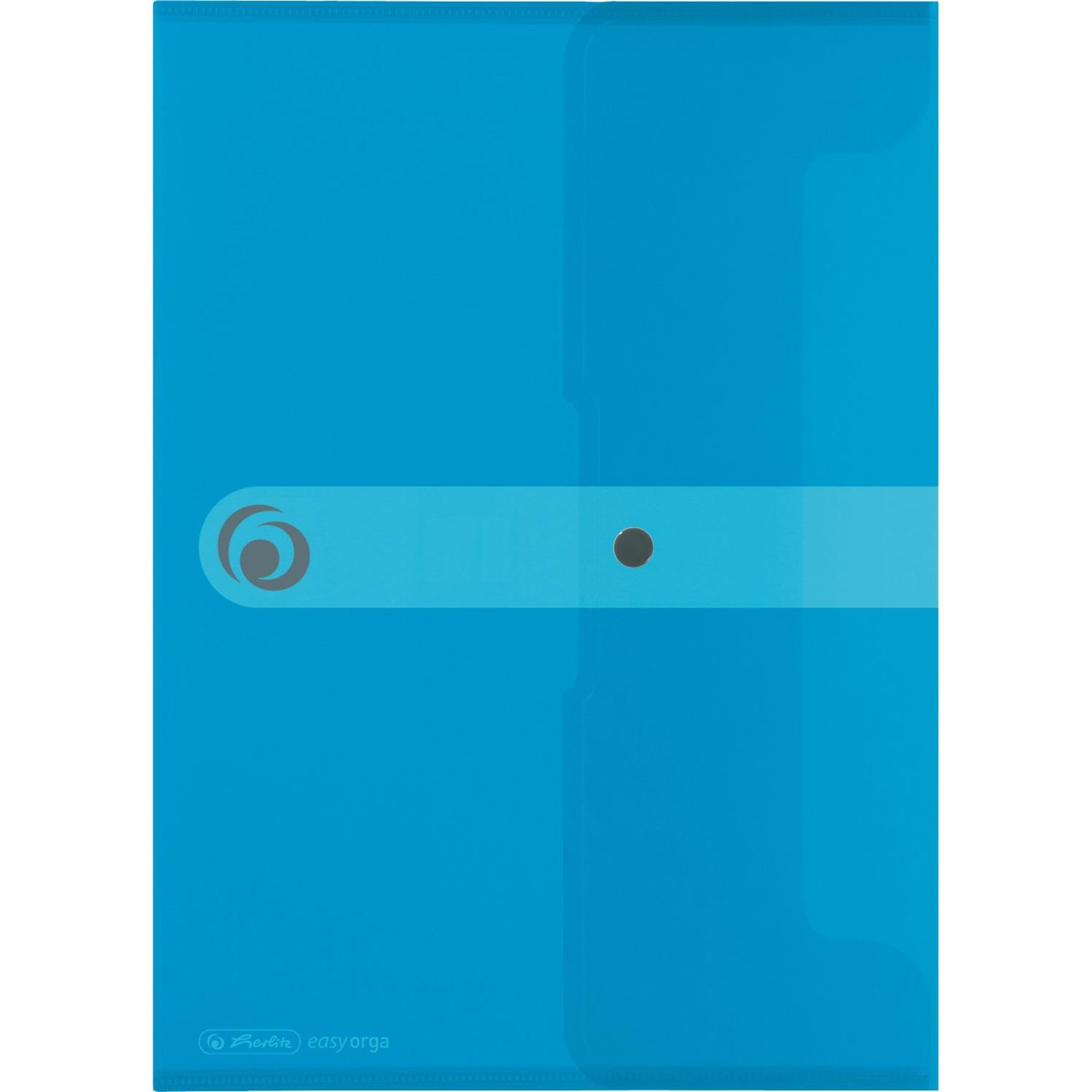 11207073 Polipropileno (PP) Azul carpeta, Bolsa