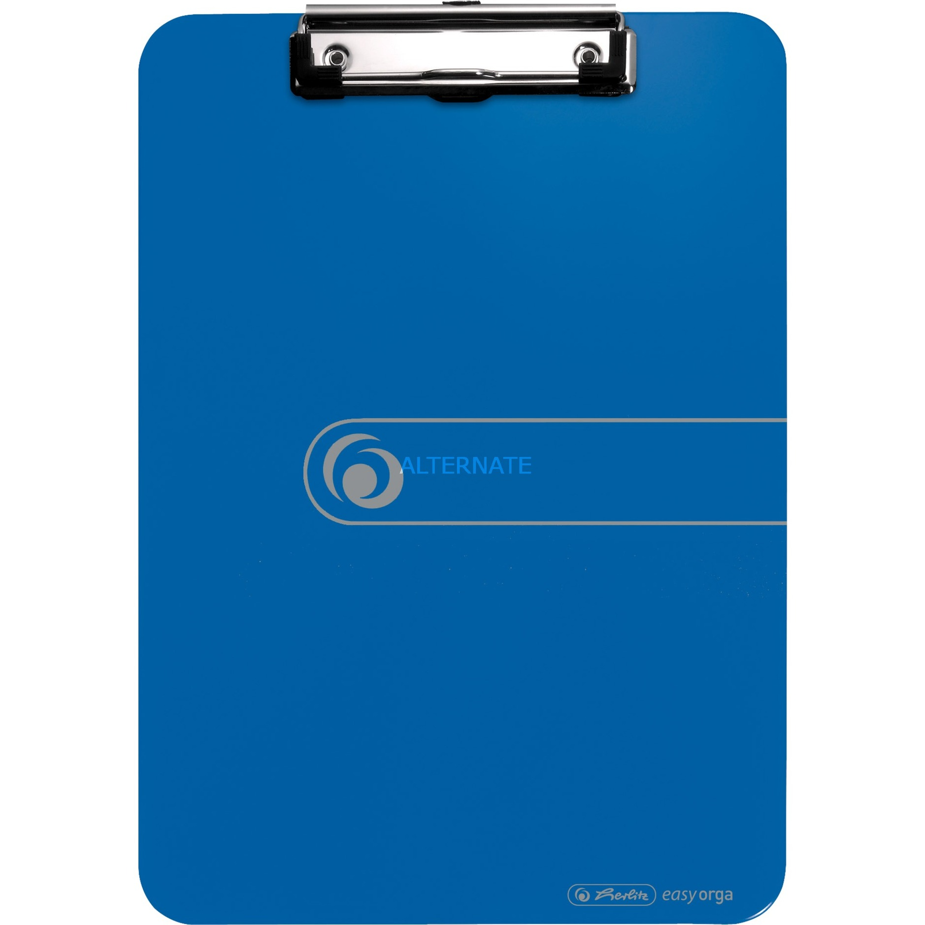 11226396 De plástico, Poliestireno Azul portapapel, Tablero de bornes