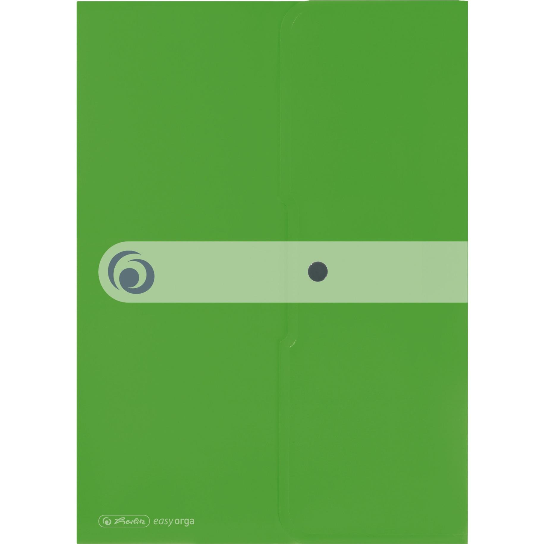 11227022 Polipropileno (PP) Verde carpeta, Bolsa