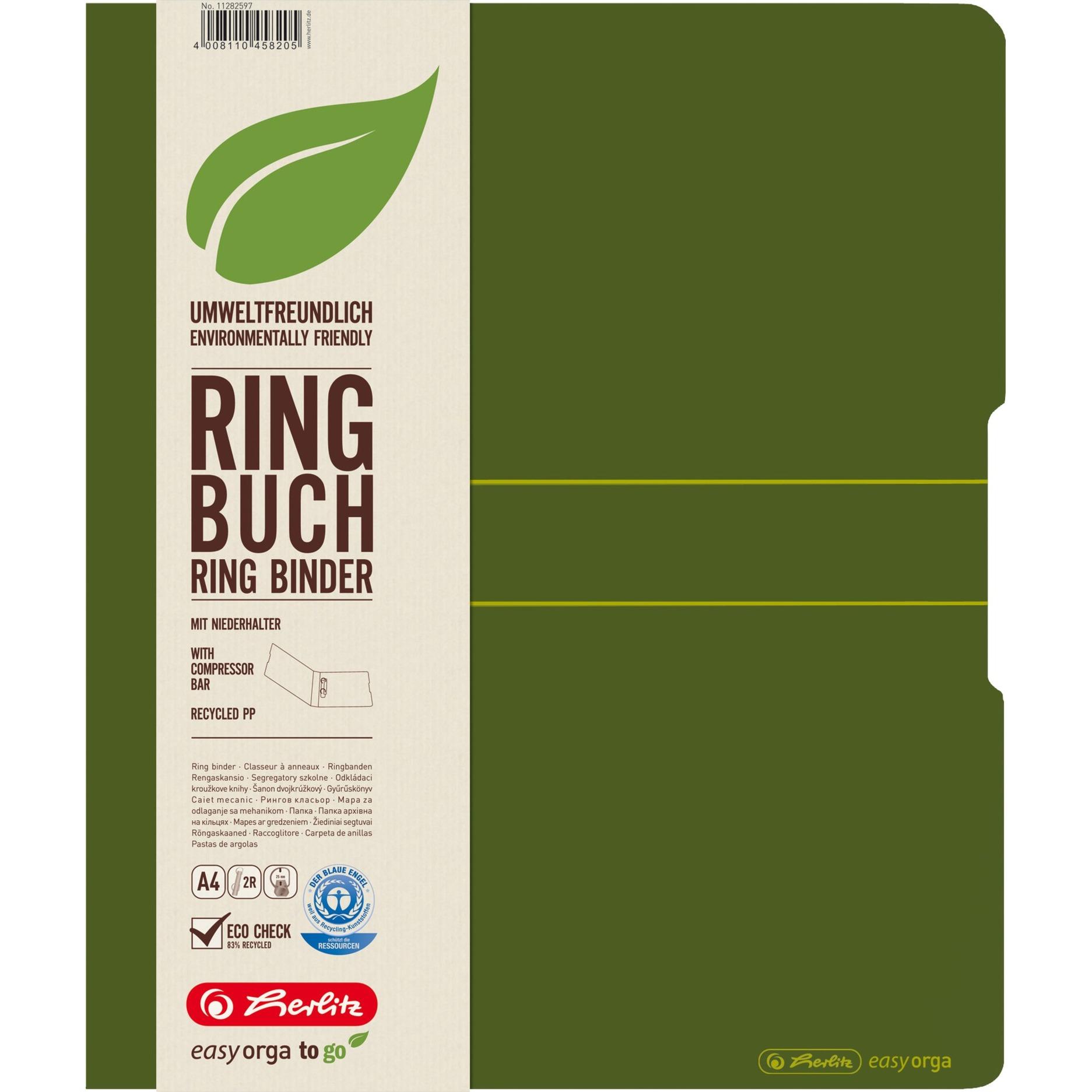 11282597 carpeta de cartón Polipropileno (PP) Verde