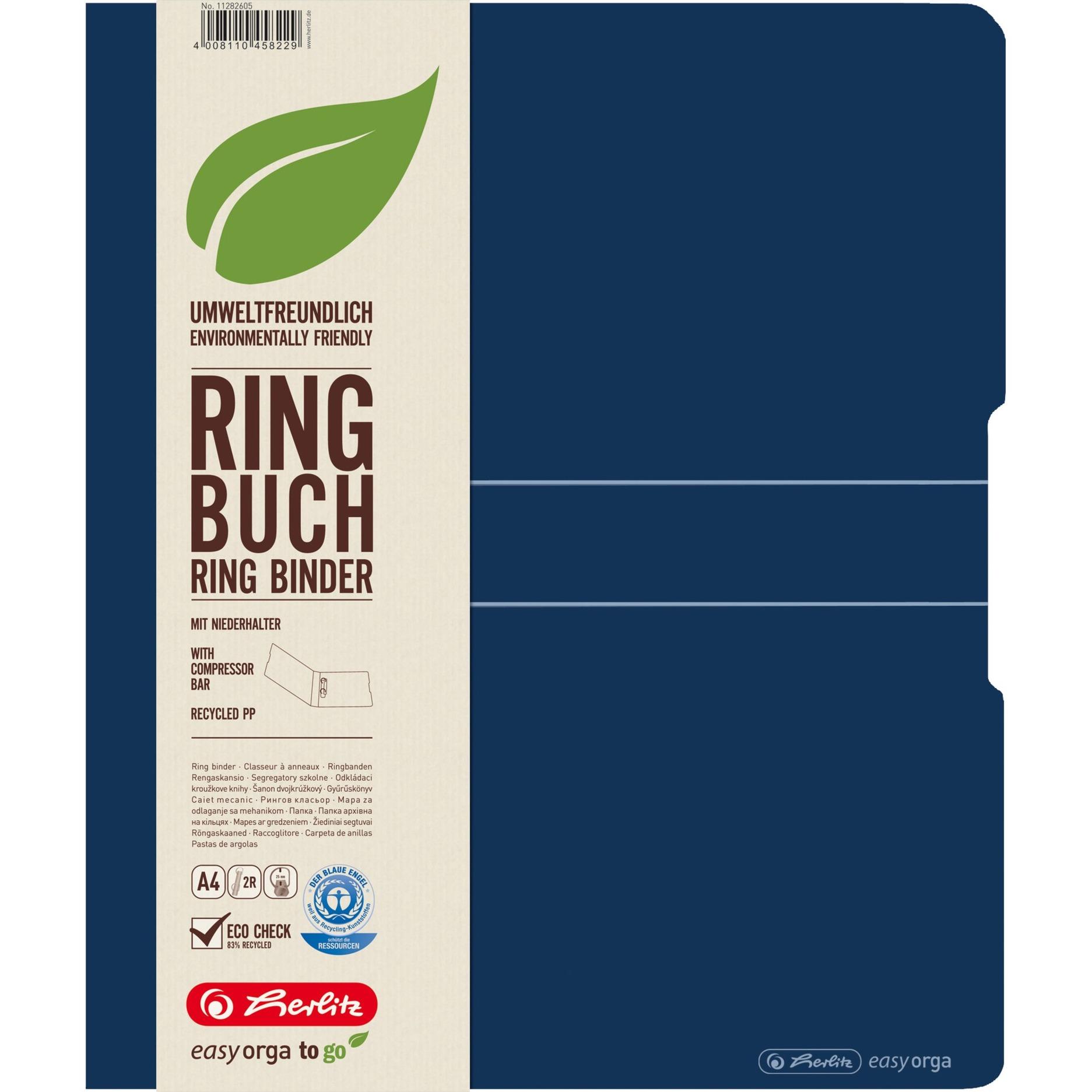 11282605 carpeta de cartón Polipropileno (PP) Azul
