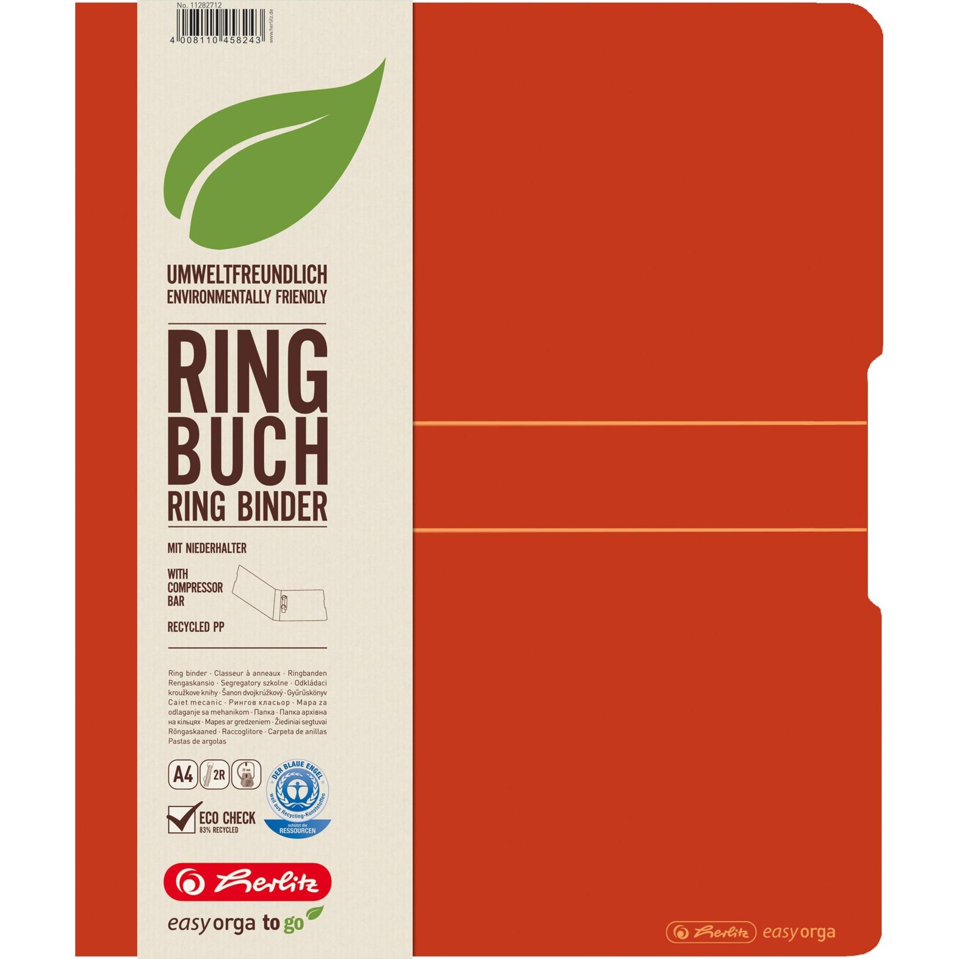 11282712 carpeta de cartón Polipropileno (PP) Naranja