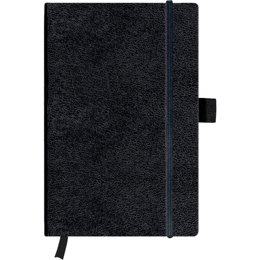 11369782 cuaderno y block 96 hojas Negro A5, Bloc de notas