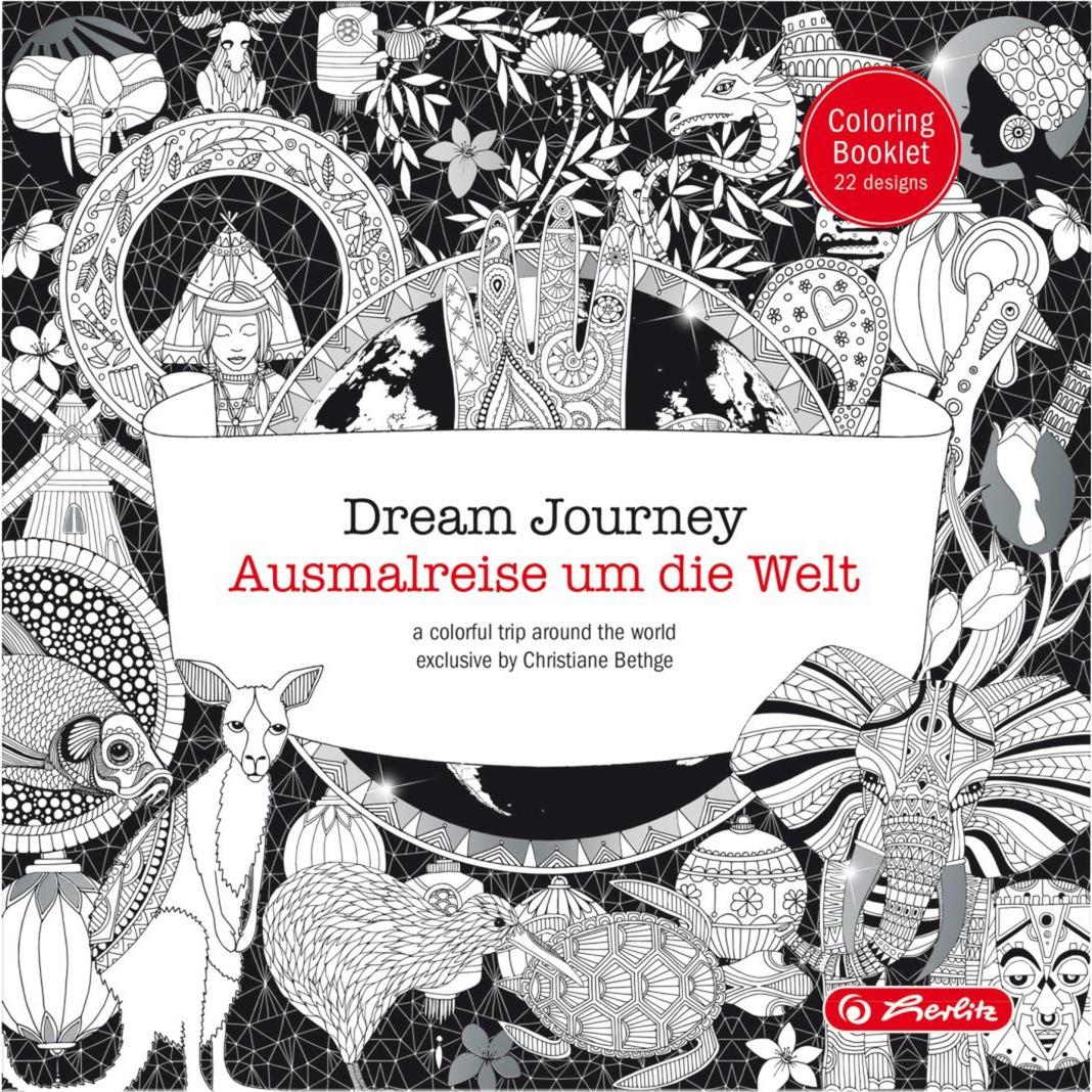 Dream Journey, Libro para colorear