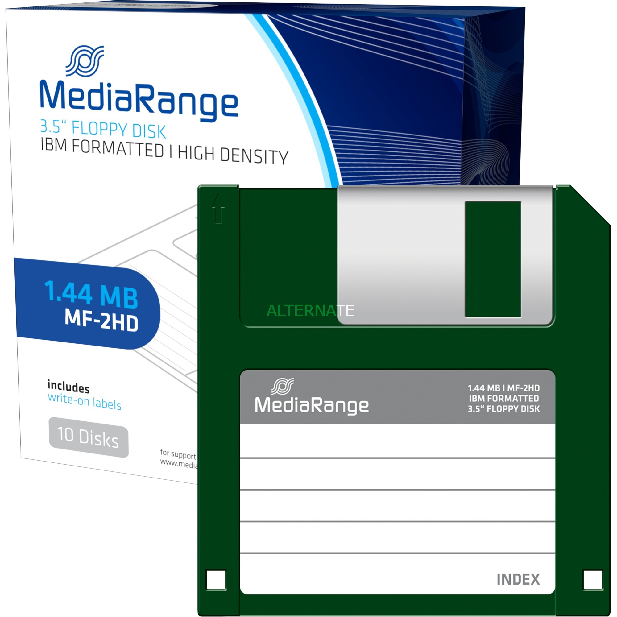 MR200 1.44MB diskette, Disquetes