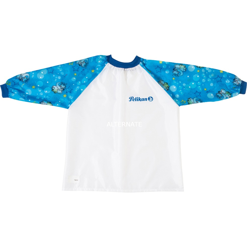 105346 babero para pintura Azul, Blanco, Delantal de pintura
