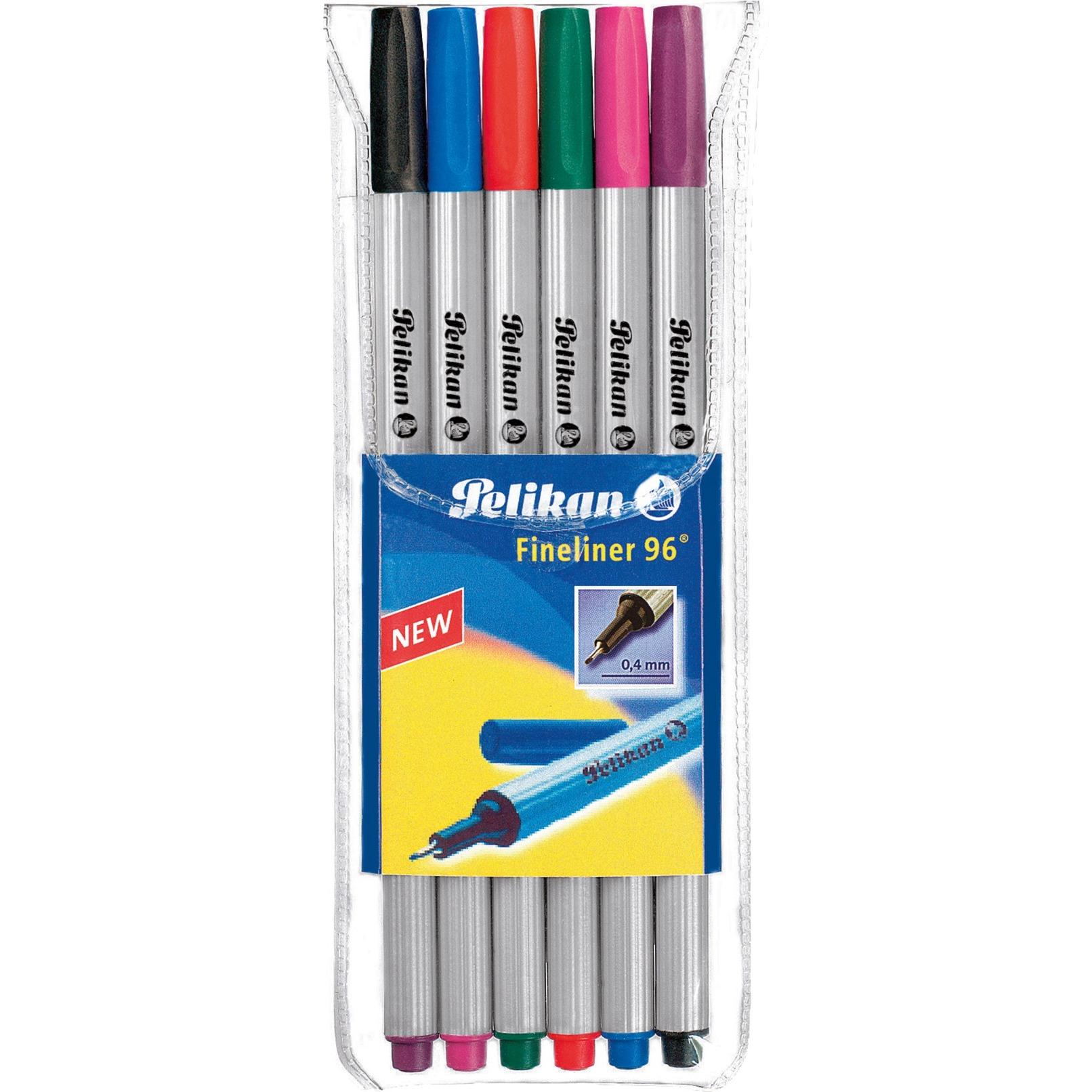940650 pluma estiligráfica Negro, Azul, Verde, Rosa, Púrpura, Rojo 6 pieza(s), Conjunto