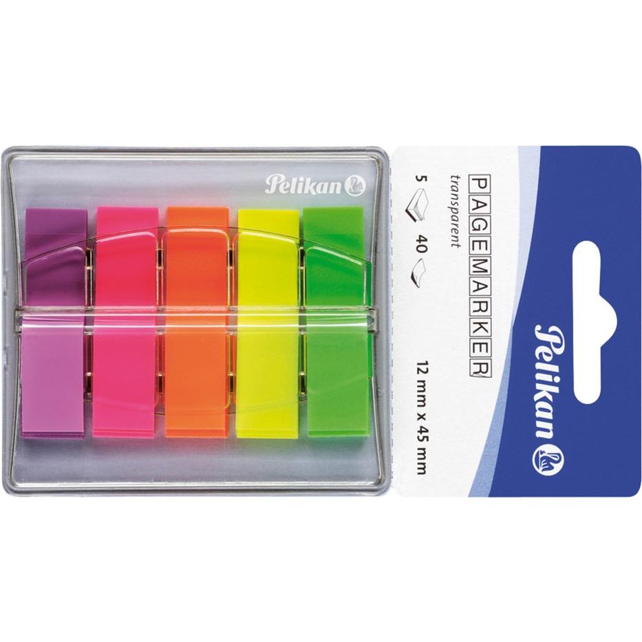 Pagemarker 132 Flexible bookmark Verde, Naranja, Rosa, Púrpura, Amarillo 200 pieza(s), Conjunto